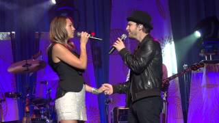 I Never Told You, Colbie Caillat with Gavin DeGraw, Wenatchee, WA, 2012