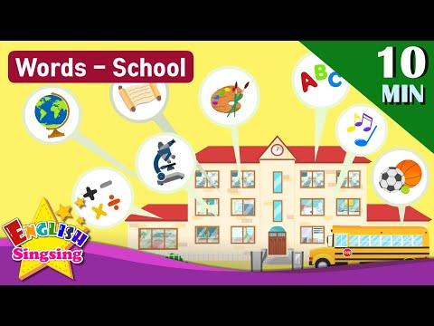 School, School Subjects, School Supplies
