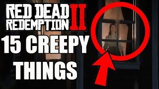 15 Most Disturbing and Creepy Things In Red Dead Redemption 2