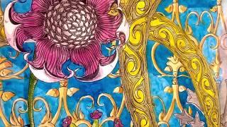 Steppe flower 31.03.2020. 30x42 art ink watercolor
