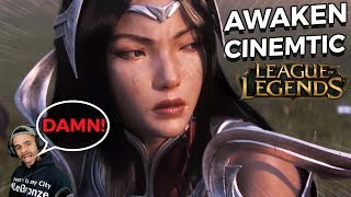 A SMITE PLAYER REACTS TO AWAKEN - LEAGUE OF LEGENDS NEW CINEMATIC - SEASON 2019