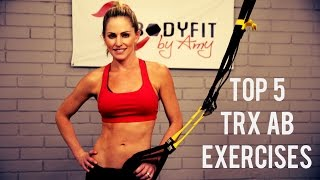 TRX Top 5 Ab Exercises for a Strong Core and Sculpted Abs