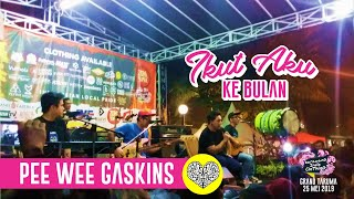Pee Wee Gaskins   Ikut Aku Ke Bulan Live Acoustic @ Karawang Indie Clothing 2019