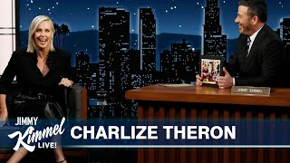 Charlize Theron on Murder Mystery Party, Drinking with Jane Goodall & Disneyland with Elvis Costello