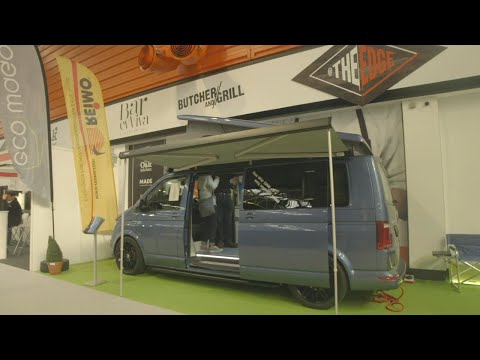 Camping and Caravan Club review of Ecowagon Expo Plus VW T6 conversion