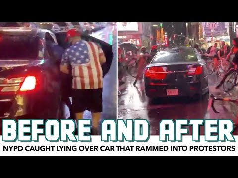 NYPD Caught In Blatant Lie Over Car That Rammed Into Protestors