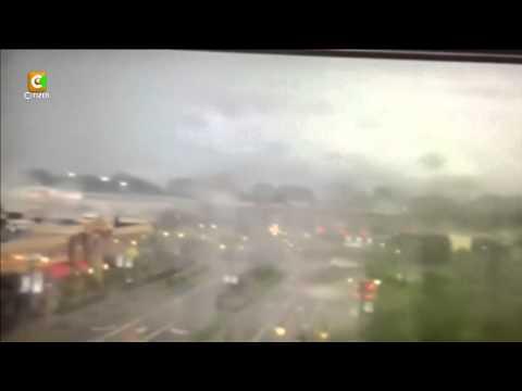 Video Captures Tornado Ripping Through Town