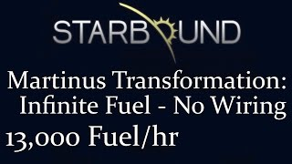 Starbound how to get unlimited fuel - Kênh video giải trí