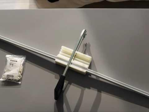 IKEA VIDGA Gardinenaufhängesystem: Passend für jede Fensterbreite