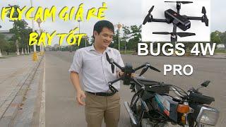 Flycam giá rẻ tốt nhất trong tầm giá MJX Bugs 4w pro