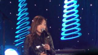 "Charice sings ""Breathe You Out"" -HD (with lyrics) at Sears Centre Arena"