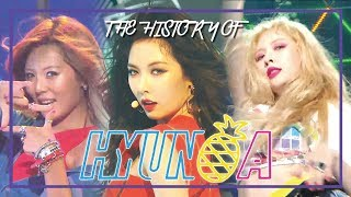 HyunA Special ★Since 'CHANGE' To 'RETRO FUTURE'★ (1h Stage Compilation)