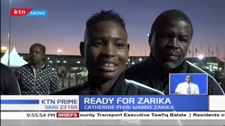 Zambian boxer Catherine Phiri ready to face off with Kenya's Fatuma Zarika