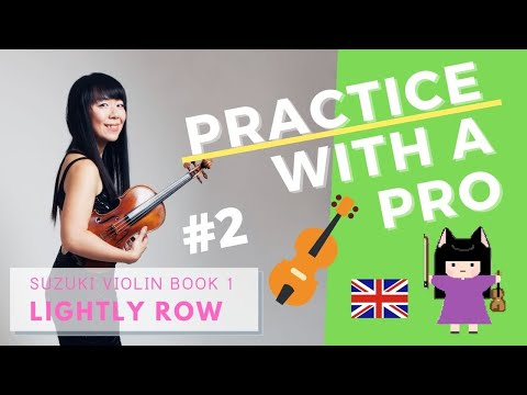 Try practicing with me on the second song of Suzuki Violin Book 1!