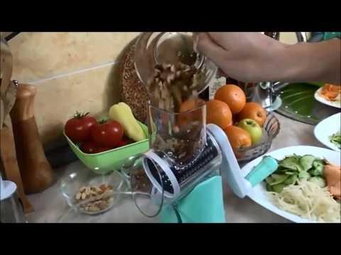 youtube KITCHEN MASTER - мультислайсер для овощей и фруктов