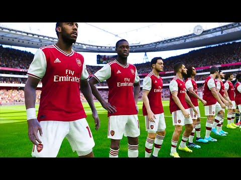 Arsenal vs Aston Villa 22 September 2019 PES 2020 Gameplay Prediction