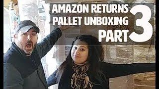 Amazon Customer Return Pallets Unboxing | Mystery Pallet.