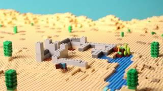 LEGO® Minecraft™ - Pouštní hlídková stanice