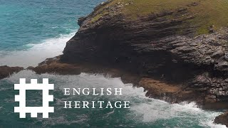 Tintagle Castle is a special place with King Arthur connections in North Cornwall
