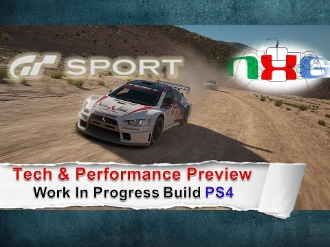 GT Sport: Work in Progress Tech & Performance Preview PS4