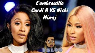 Tout sur l'embrouille Cardi B vs Nicki Minaj