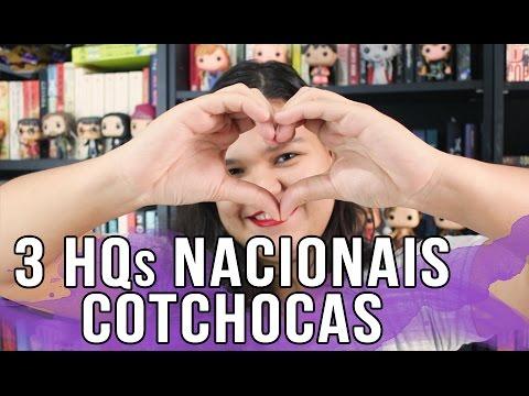 RECOMENDO: 3 HQs NACIONAIS FOFINHAS | Bruna Miranda #003