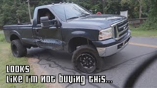ANTON TOTALED HIS TRUCK!!