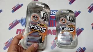 Распаковка Бритва BIC Flex 5 Hybrid с 4 кассетами из Rozetka.com.ua #мояраспаковка