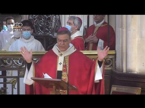 Messe de la Pentecôte à Saint-Germain-l'Auxerrois