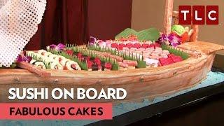 Sushi (Cakes) on Board! | Fabulous Cakes | Sweet AF Wednesdays