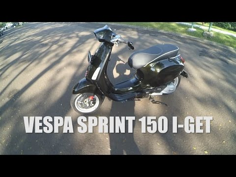 #RIDINGIMPRESSION | VESPA SPRINT 150 IGET / I-GET | TEST RIDE | MOTOVLOG