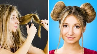 22 STYLISH AND EASY HAIRSTYLES FOR GORGEOUS LOOK