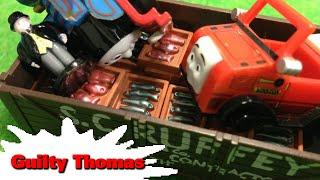 """トーマス プラレール ガチャガチャ トーマスのいたずら Tomy Plarail Thomas """"Guilty Thomas"""""""