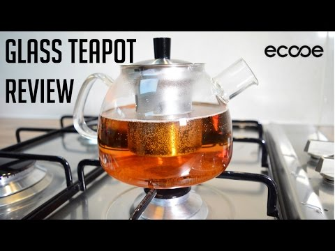 Ecooe Glass Teapot Review #mannequinchallenge | Indian Cooking Recipes | Cook with Anisa
