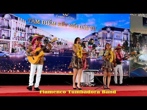 FLAMENCO TUMBADORA BAND BIỂU DIỄN NHẠC NHẸ ĐÓN KHÁCH DỰ ÁN CENTURY CITY LONG THÀNH