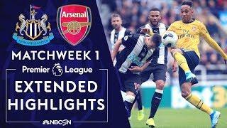 Newcastle v. Arsenal | PREMIER LEAGUE HIGHLIGHTS | 8/11/19 | NBC Sports