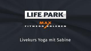 Yoga mit Sabine (Livemitschnitt vom 19.4.2020)