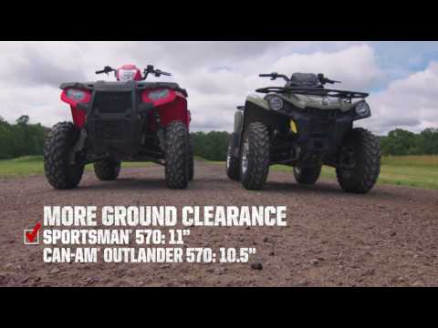 2017 Polaris Sportsman 570 in Three Lakes, Wisconsin