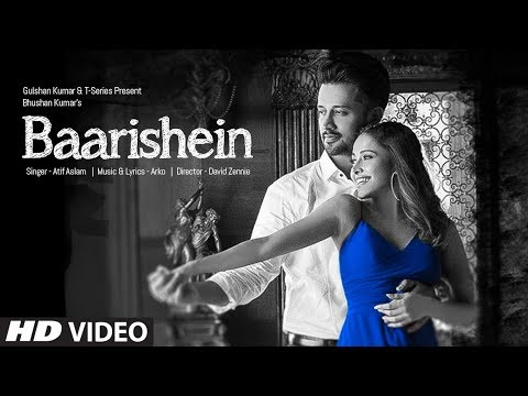 Download BAARISHEIN Song | Arko Feat. Atif Aslam  & Nushrat Bharucha | New Romantic Song 2019 | T-Series HD Mp4 3GP Video and MP3