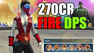 DCUO: FIRE DPS LOADOUT 270CR 45K+ MIGHT!! STAR LABS USED TO BE #1 LOCATION FOR BEEF..