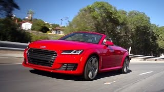 2017 Audi TT Coupe and Roadster - Review and Road Test
