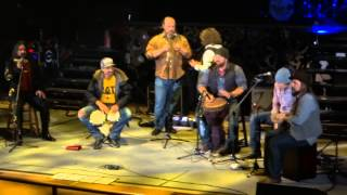 2013-05-10, Zac Brown Band, Red Rocks (CO), Frozen Man (James Taylor cover)