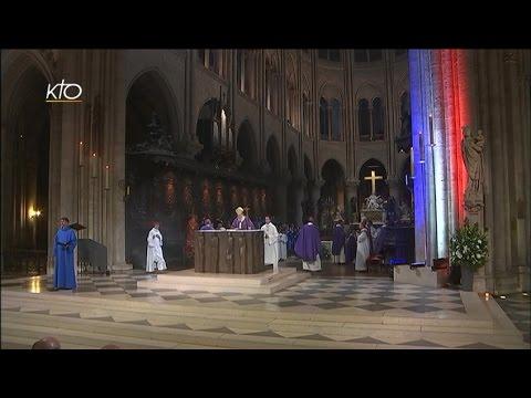 #PrayForParis - Messe à Notre-Dame de Paris