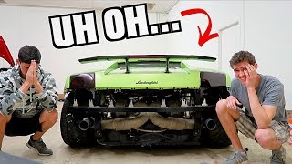 Tried Starting Our 2,000hp Lamborghini.. THEN THIS HAPPENS!