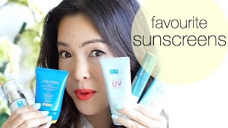 Summer Skincare Faves: Japanese/Asian Sunscreen!