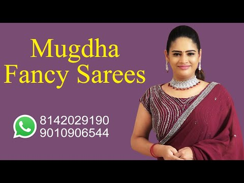 "<p style=""color: red"">Video : </p>Beautiful Fancy Sarees 
