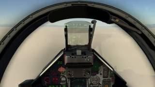 DCS Mirage 2000C - Landing Tutorial 2/3 - Using ILS and TCAN