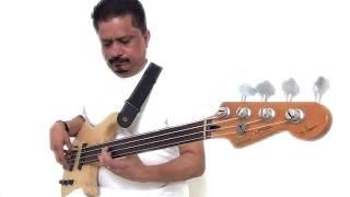 Fretless Bass Solo - colinbassman