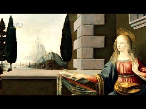 L'Annonciation de Léonard de Vinci