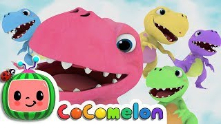 Five Little Dinosaurs | Cocomelon (ABCkidTV) Nursery Rhymes & Kids Songs